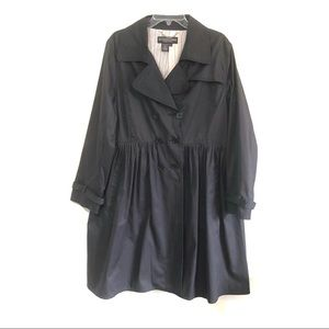 VTG J. Peterman frock double breasted coat Rare
